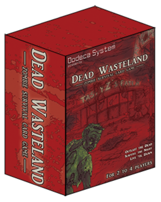 Dead Wasteland: Zombie Survival Card Game